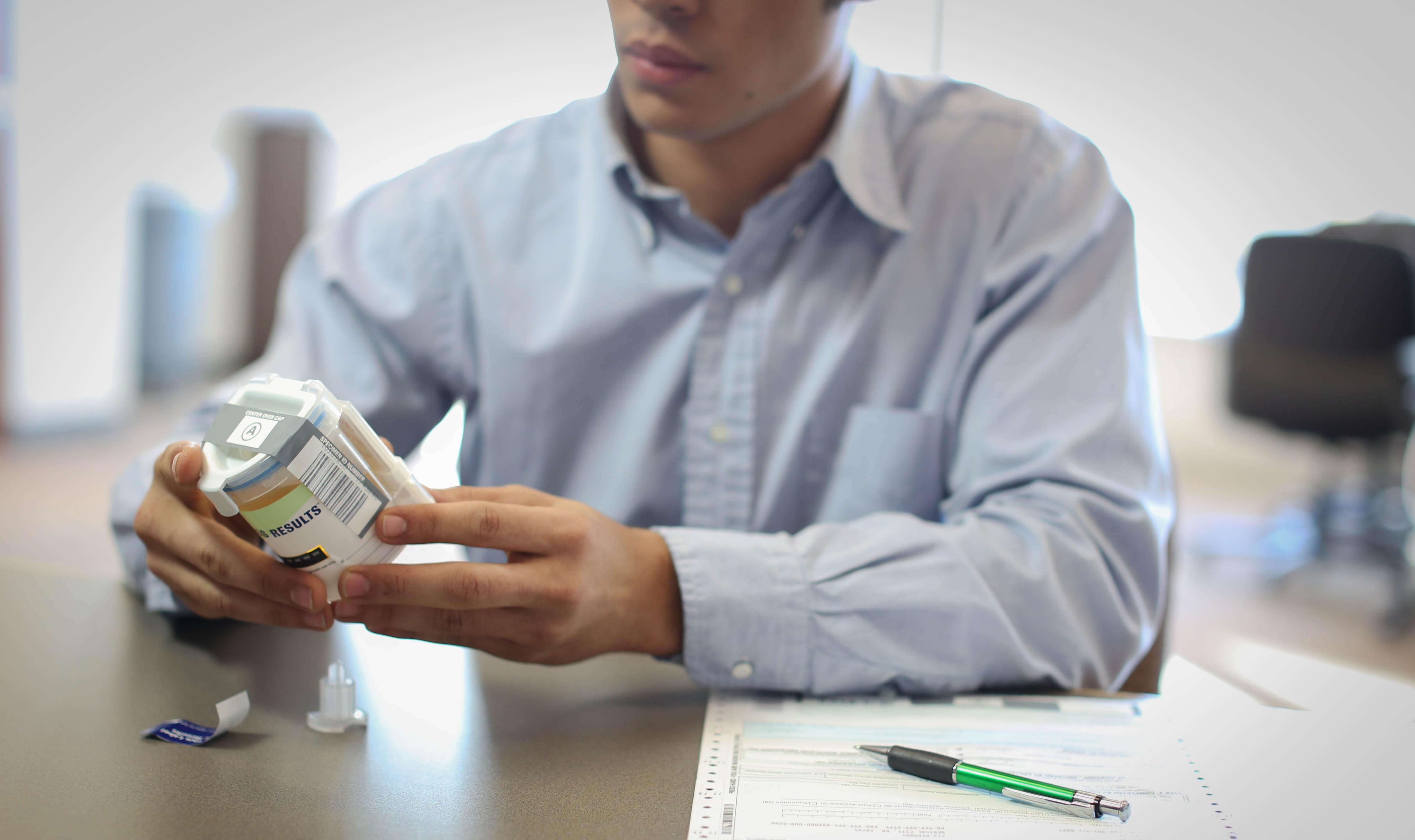New to drug testing: Cold medicine's effect on drug test