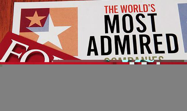 Fortune Most Admired