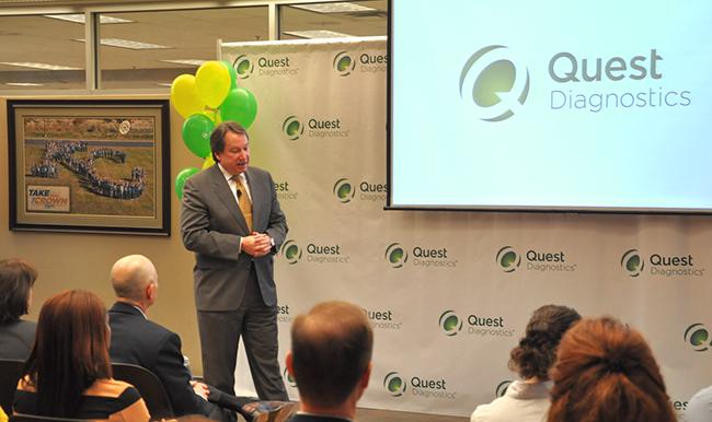 Lenexa, Kansas - Quest Diagnostics' rising star   Employer