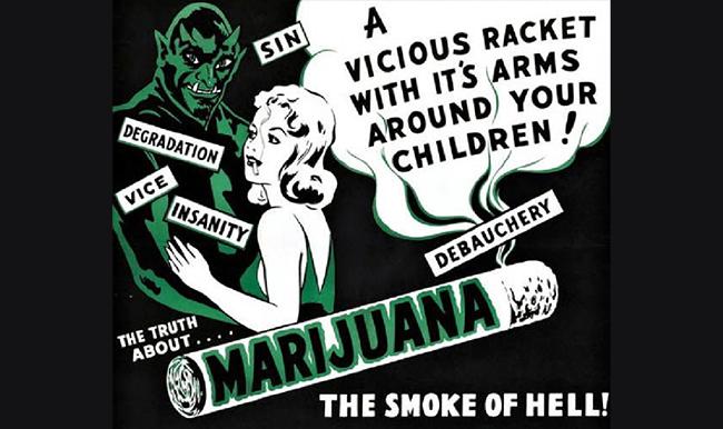 Old marijuana propaganda