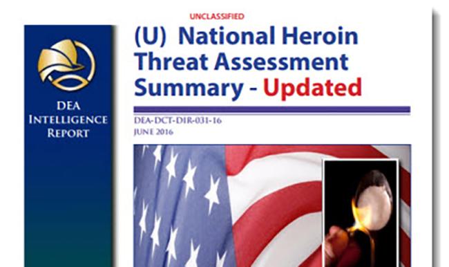 DEA report on Heroin