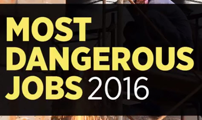 Forbes Most Dangerous Jobs