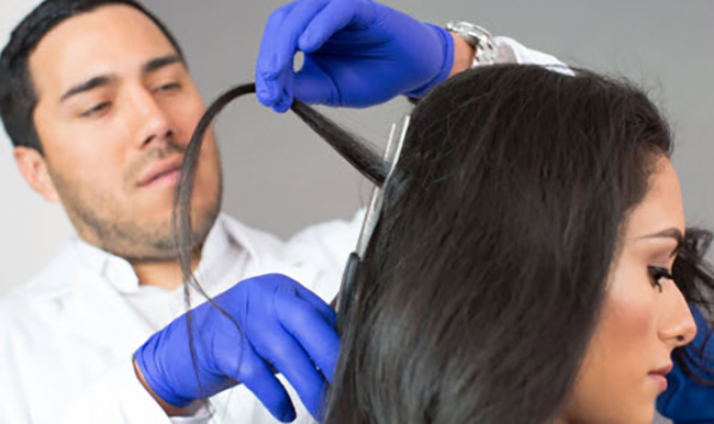 How much hair is needed for a drug test?