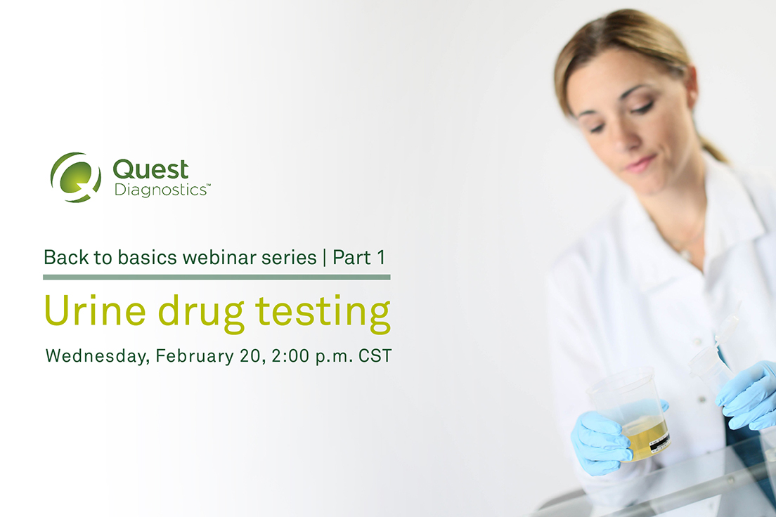 Combating cheating in urine drug testing | Quest Diagnostics