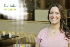 We're There - Quest Diagnostics employee Danielle Coyle